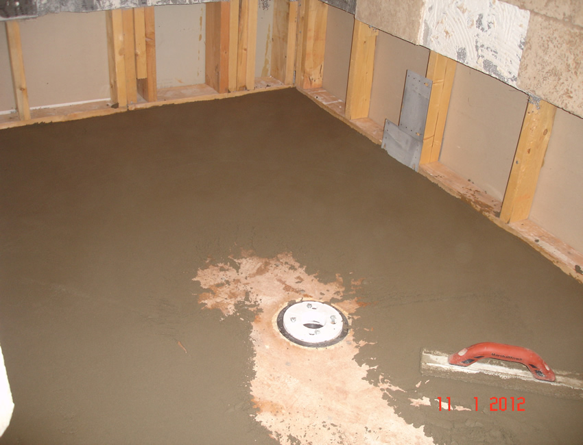 alpharetta ga shower pan repair