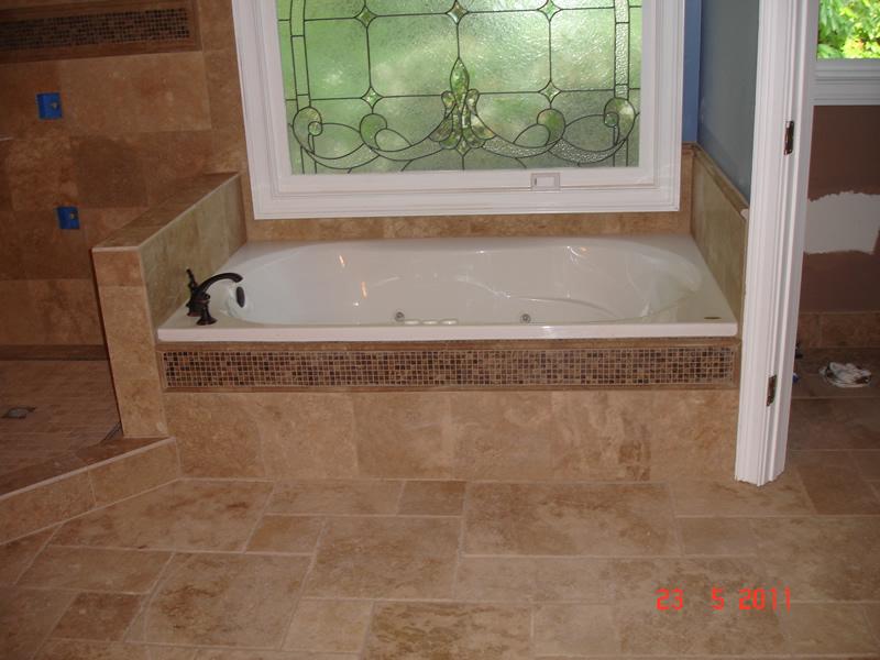 finished bathroom remodeling project