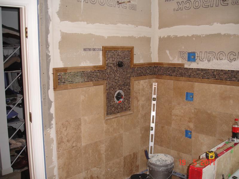 Bathroom remodeling services for Bathroom shower tile installation